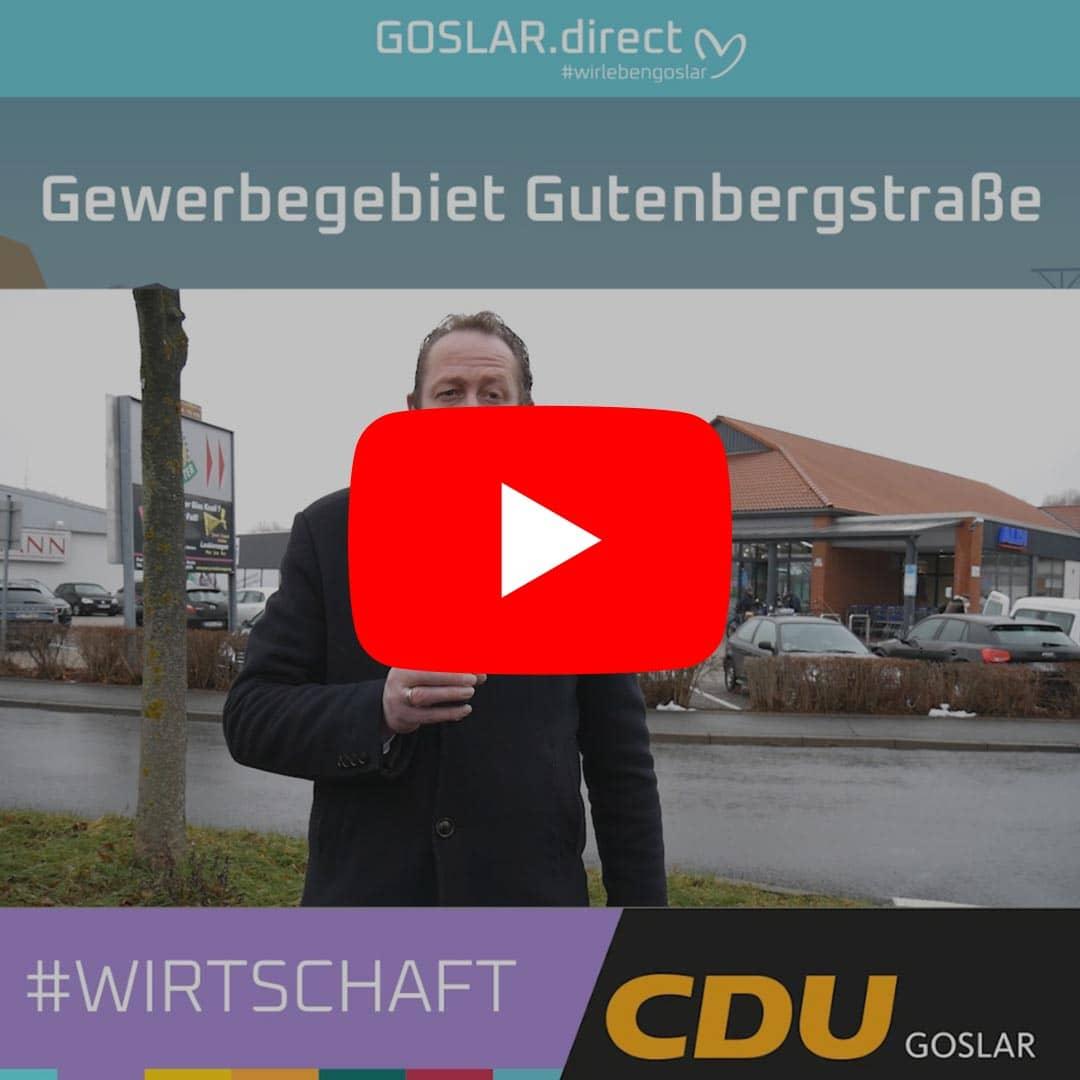 Gewerbegebiet Gutenbergstraße - wie geht es hier weiter?