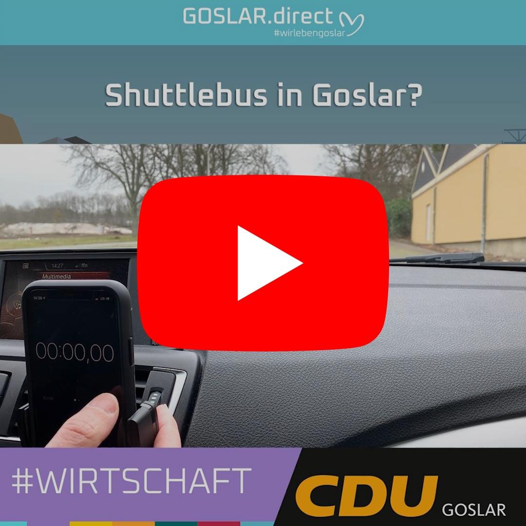 Shuttlebus in Goslar - vom Osterfeld in die Innenstadt in weniger als 10 Minuten?
