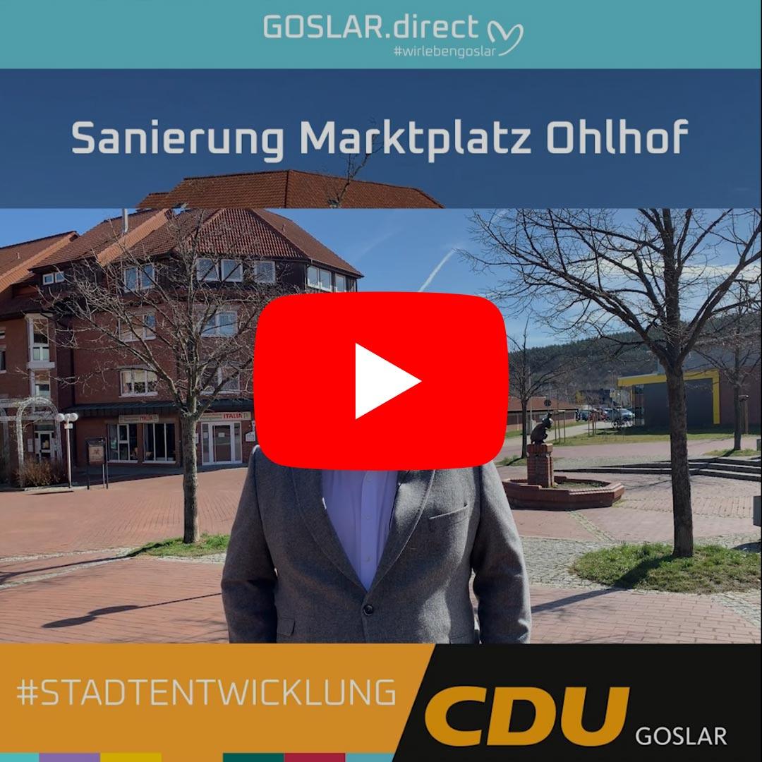 Sanierung des Marktplatz Ohlhof