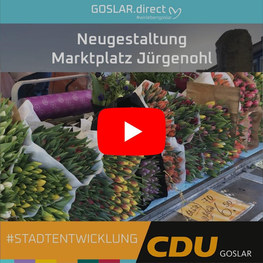 Neugestaltung Marktplatz Jürgenohl