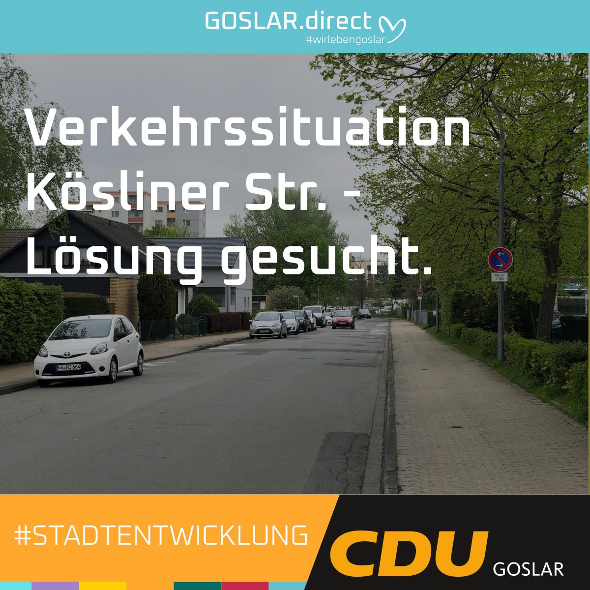 Verkehrssituation Kösliner Str. - Lösung gesucht