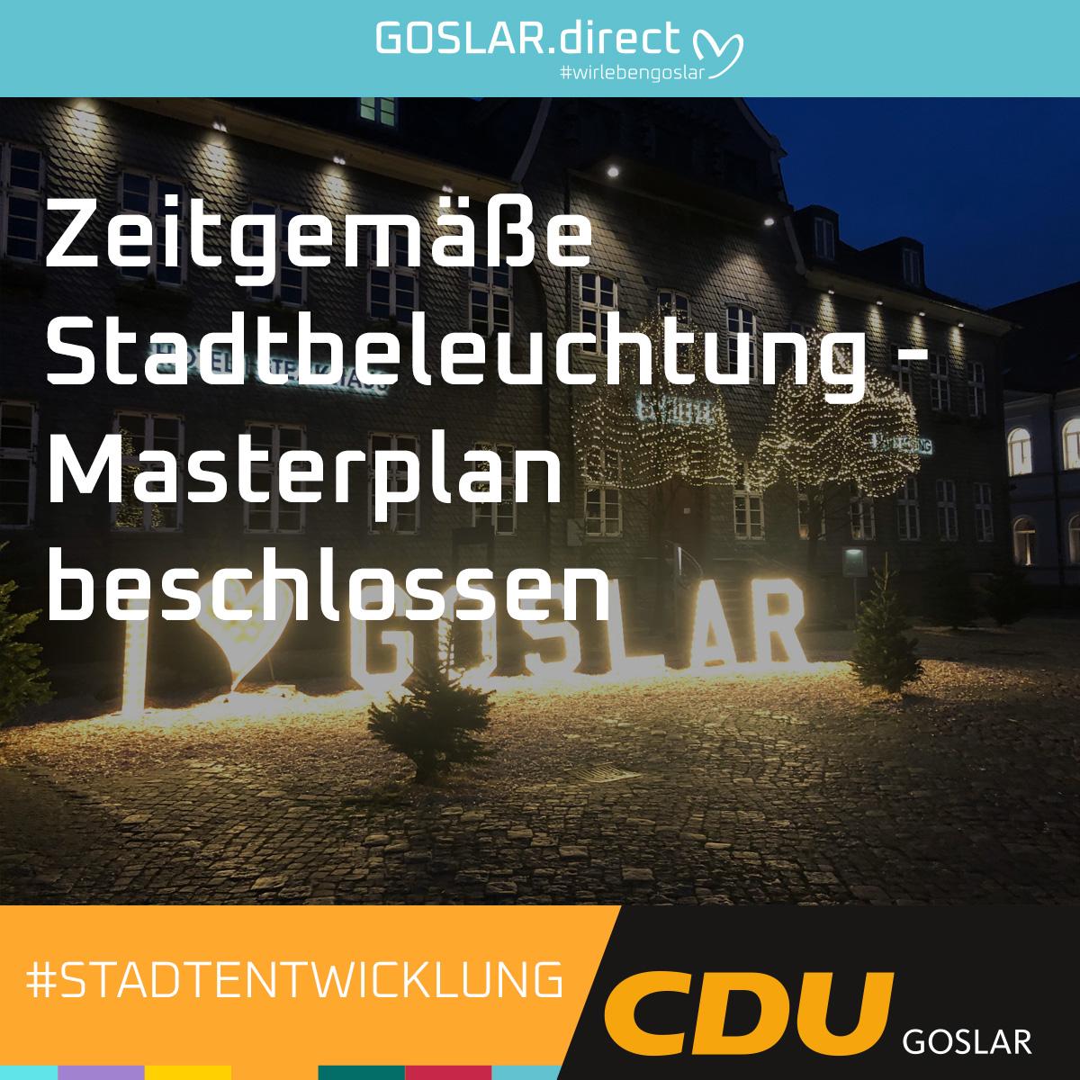 Erfolgreiche Initiative für eine zeitgemäße Stadtbeleuchtung