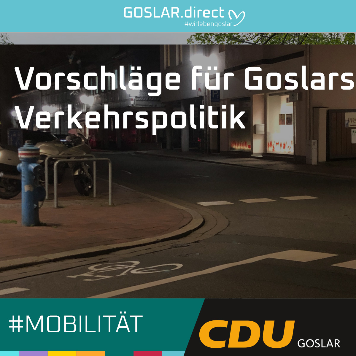 Grün-Schwarze Gedanken zu Mobilität in Goslar