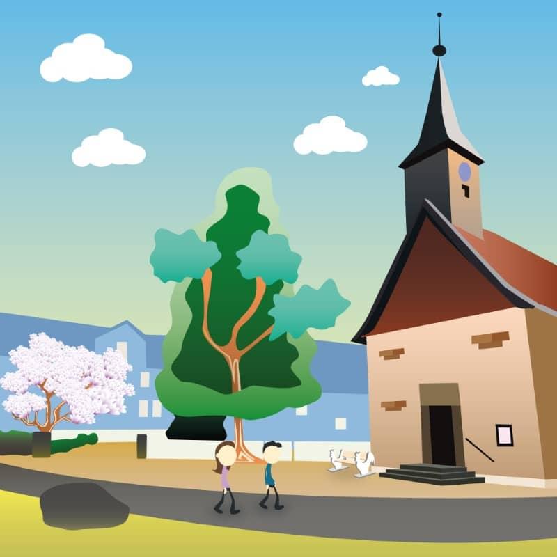 Kachel-Kirche-Hahndorf